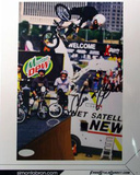 Simon Tabron BMX Biking Vert shot Autographed Photo (Hand Signed Collectable) Fotografía
