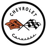 Corvette '53 Logo Plaque en métal
