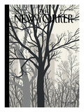 Sunlight on Twenty-third Street - The New Yorker Cover, January 23, 2012 Regular Giclee Print by Jorge Colombo