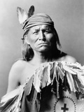 Apache Man, C1903 Photographic Print by Edward S. Curtis