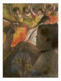 Degas: Theater Box, 1885 Posters by Edgar Degas