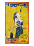 Sword Swallower, C1955 Art