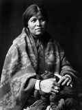 Navajo Woman, C1904 Photographic Print by Edward S. Curtis