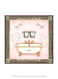 Pampered Bath I Print by Barbara Kenney