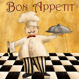 Bon Appetit I Posters