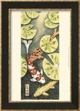 Koi Pond I Print by Chariklia Zarris