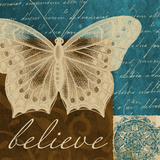 Believe in Butterflies Posters by Elizabeth Medley