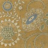 Crewel Blossoms II Prints by Chariklia Zarris