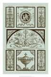 Pergolesi Panel in Celadon III Giclee Print by Michel Pergolesi