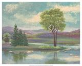 Riverscape I Art by Victor Valla