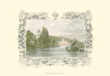 Bisham Abbey Print by William Tombleson