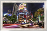 The Mean Streets of Tokyo Framed Photographic Print by Trey Ratcliff