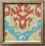 Island Ikat IV Limited Edition Framed Print by Chariklia Zarris