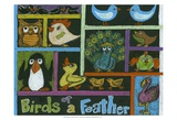 Birds of a Feather Poster by Lisa Choate
