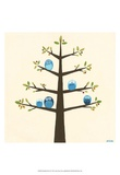Orchard Owls II Posters van Erica J. Vess