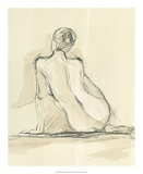 Neutral Figure Study III Posters par Ethan Harper