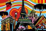 Paris l'Amour Affiches par  Lobo