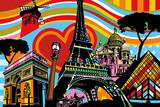 Paris l'Amour Prints by  Lobo
