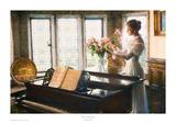 Flower Arrangement ポスター : サンドラ・カック
