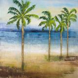 Ocean Palms II Posters by Michael Marcon