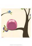 Orchard Owls VI Kunstdrucke von Erica J. Vess