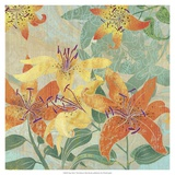 Tiger Lilies I Posters by R. Collier-Morales