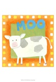 Moo Posters by Megan Meagher
