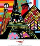 Paris Pop Prints by  Lobo