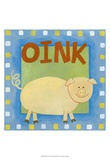 Oink Posters by Megan Meagher