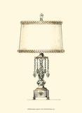 Boudoir Lamp II Lámina