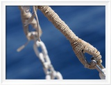 Chain and Nautical Rope Framed Photographic Print