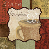 Macchiato Prints by Elizabeth Medley