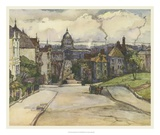 European Sketchbook I Giclee Print by Rowena Meeks Abdy