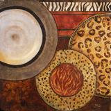African Circles II Poster par Patricia Quintero-Pinto