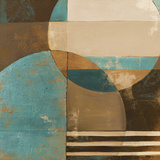 Blue Visionary I Prints by Patricia Pinto