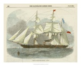 Antique Clipper Ship III Giclee Print