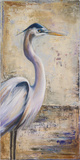 Blue Heron I Art by Patricia Pinto