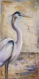 Blue Heron I Art by Patricia Quintero-Pinto