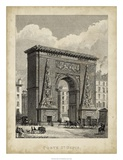Porte St. Denis Giclee Print by A. Pugin