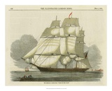 Antique Clipper Ship II Lámina