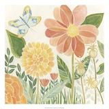 Papillon Garden II Giclee Print by Megan Meagher