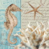 Seaside I Prints by Elizabeth Medley