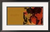 Geisha Collage Framed Giclee Print