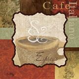 Espresso Print by Elizabeth Medley