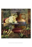 Cheese and Grapes II Print by Janet Stever