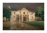 The Alamo, San Antonio, Texas Posters por Rod Chase
