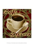 Caf&#233; Espresso Prints by Denise Tedeschi