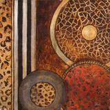 African Circles I Kunstdrucke von Patricia Quintero-Pinto