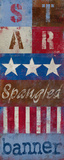 Star Spangled Banner Prints by  Kingsley