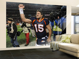 Denver Broncos and Pittsburgh Steelers: Tim Tebow Wall Mural – Large by Chris Schneider